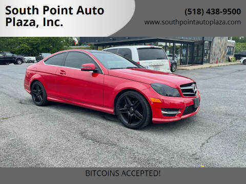 2013 Mercedes-Benz C-Class for sale at South Point Auto Plaza, Inc. in Albany NY