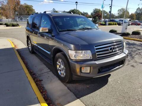 2006 Infiniti QX56 for sale at RVA Automotive Group in North Chesterfield VA