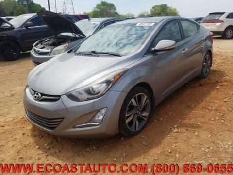 2015 Hyundai Elantra for sale at East Coast Auto Source Inc. in Bedford VA