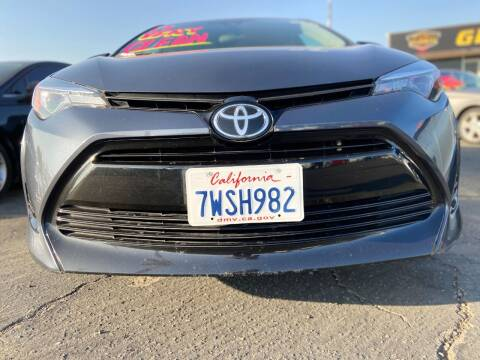 2017 Toyota Corolla for sale at Global Auto Group in Fontana CA