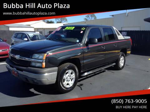 2003 Chevrolet Avalanche for sale at Bubba Hill Auto Plaza in Panama City FL