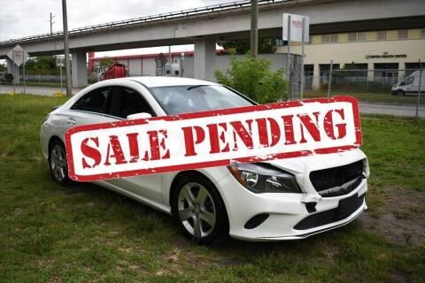2017 Mercedes-Benz CLA for sale at STS Automotive - Miami, FL in Miami FL