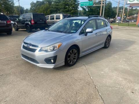 2013 Subaru Impreza for sale at Wolfe Brothers Auto in Marietta OH
