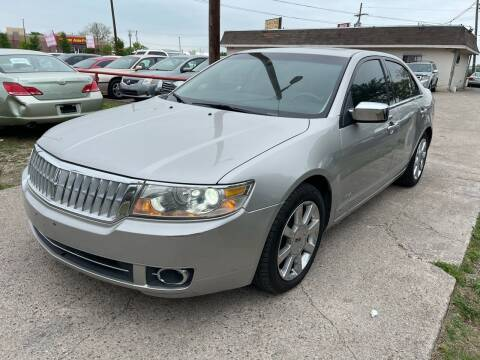 2007 Lincoln MKZ for sale at Texas Select Autos LLC in Mckinney TX