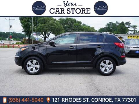 2012 Kia Sportage for sale at Your Car Store in Conroe TX