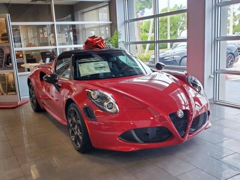 2020 Alfa Romeo 4C for sale in Miami, FL