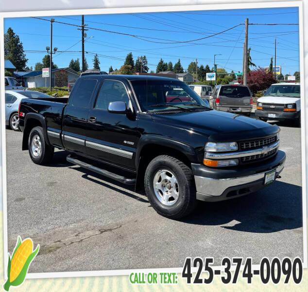 2000 Chevrolet Silverado 1500 for sale at Corn Motors in Everett WA