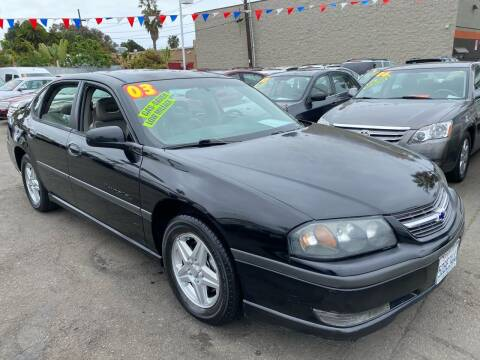 2003 Chevrolet Impala for sale at North County Auto in Oceanside CA