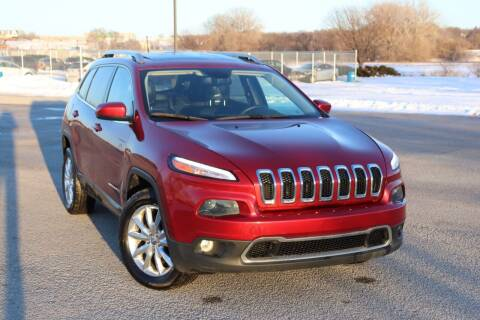 2016 Jeep Cherokee for sale at Big O Auto LLC in Omaha NE