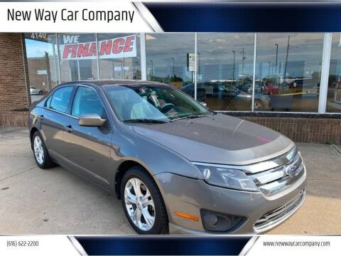 2012 Ford Fusion for sale at New Way Car Company in Grand Rapids MI