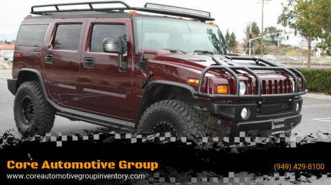 2007 HUMMER H2 for sale at Core Automotive Group - Hummer in San Juan Capistrano CA