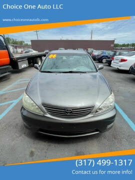 2006 Toyota Camry for sale at Choice One Auto LLC in Beech Grove IN
