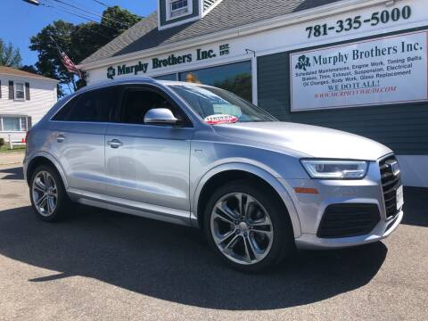 2018 Audi Q3 for sale at MURPHY BROTHERS INC in North Weymouth MA