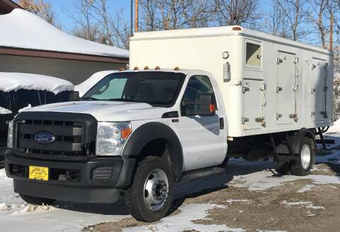 2016 Ford F-550 Super Duty for sale at Central City Auto West in Lewistown MT