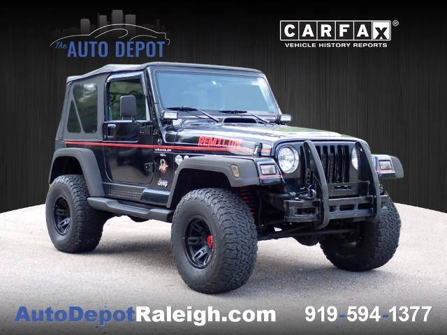 2000 Jeep Wrangler for sale at The Auto Depot in Raleigh NC