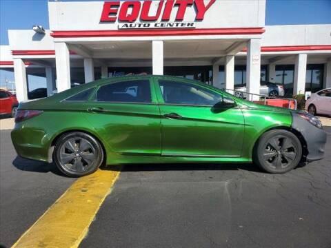 2012 Hyundai Sonata Hybrid for sale at EQUITY AUTO CENTER in Phoenix AZ