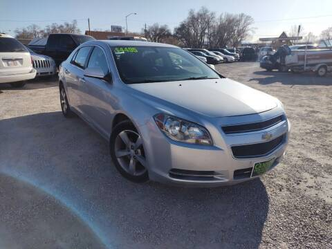 2012 Chevrolet Malibu for sale at Canyon View Auto Sales in Cedar City UT