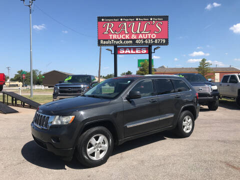 2011 Jeep Grand Cherokee for sale at RAUL'S TRUCK & AUTO SALES, INC in Oklahoma City OK