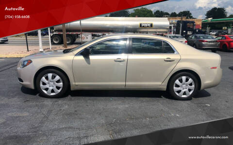 2010 Chevrolet Malibu for sale at Autoville in Kannapolis NC