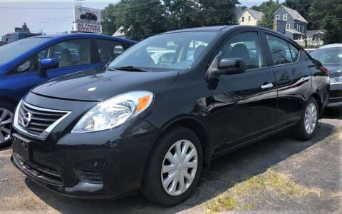 2012 Nissan Versa for sale at Top Line Import in Haverhill MA