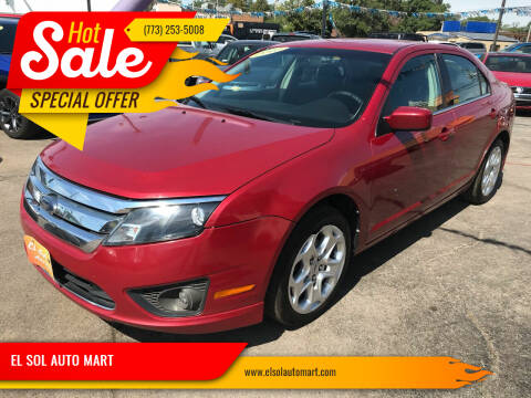 2010 Ford Fusion for sale at TOP YIN MOTORS in Mount Prospect IL