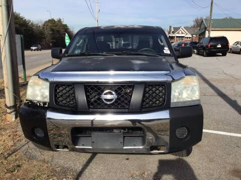 2007 Nissan Titan for sale at A & H Auto Sales in Greenville SC