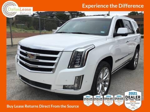 2018 Cadillac Escalade for sale at Dallas Auto Finance in Dallas TX