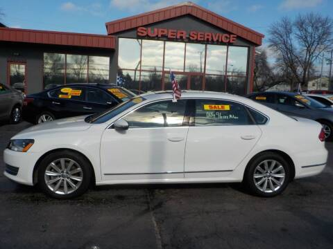 2012 Volkswagen Passat for sale at Super Service Used Cars in Milwaukee WI