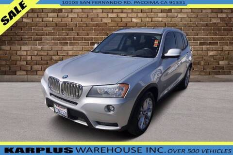 2014 BMW X3 for sale at Karplus Warehouse in Pacoima CA
