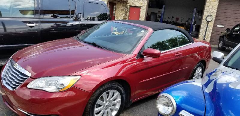 2012 Chrysler 200 Convertible for sale in Franklin, IN