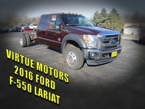 2016 Ford F-550 Super Duty for sale at Virtue Motors in Darlington WI