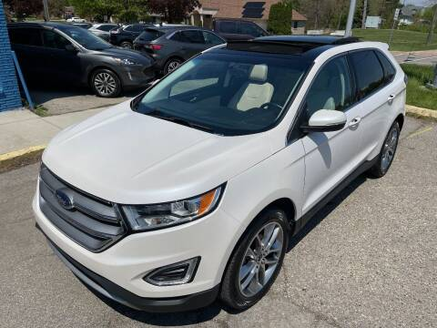 2015 Ford Edge for sale at One Price Auto in Mount Clemens MI