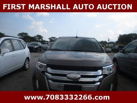 2012 Ford Edge for sale at First Marshall Auto Auction in Harvey IL