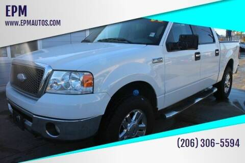 2008 Ford F-150 for sale at EPM in Auburn WA