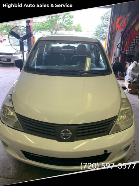 2009 Nissan Versa for sale at Highbid Auto Sales & Service in Lakewood CO