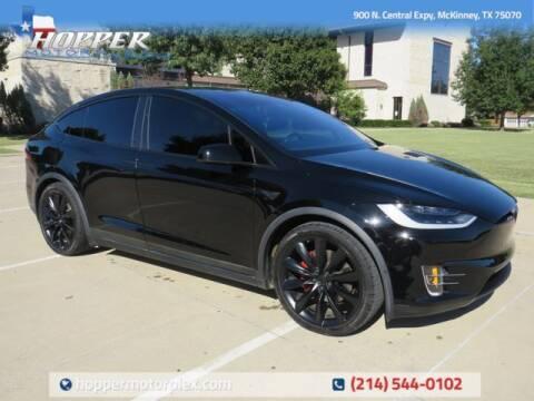 2018 Tesla Model X for sale at HOPPER MOTORPLEX in Mckinney TX