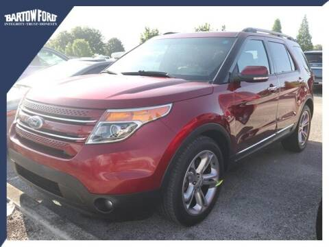 2015 Ford Explorer for sale at BARTOW FORD CO. in Bartow FL