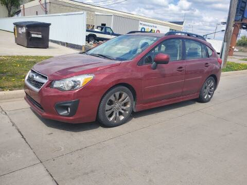 2012 Subaru Impreza for sale at GOOD NEWS AUTO SALES in Fargo ND