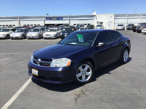 2013 Dodge Avenger for sale at My Three Sons Auto Sales in Sacramento CA