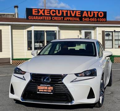 2017 Lexus IS 300 for sale at Executive Auto in Winchester VA
