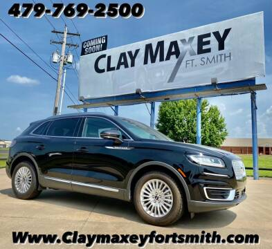 2019 Lincoln Nautilus for sale at Clay Maxey NWA in Springdale AR
