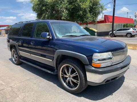 2001 Chevrolet Suburban for sale at C.J. AUTO SALES llc. in San Antonio TX