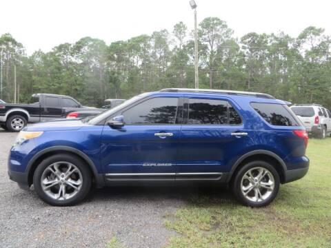 2013 Ford Explorer for sale at Ward's Motorsports in Pensacola FL