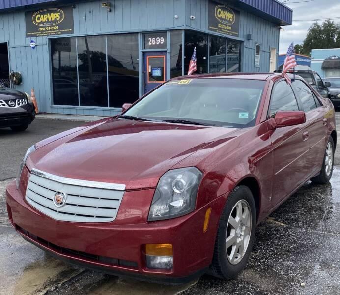 2006 Cadillac CTS for sale at CAR VIPS ORLANDO LLC in Orlando FL