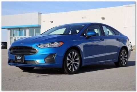 2019 Ford Fusion for sale at WHITE MOTORS INC in Roanoke Rapids NC