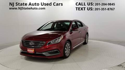2015 Hyundai Sonata for sale at NJ State Auto Auction in Jersey City NJ
