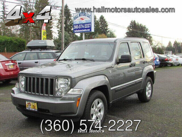 2012 Jeep Liberty for sale at Hall Motors LLC in Vancouver WA