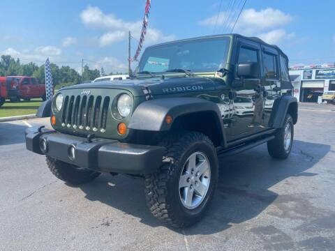 2007 Jeep Wrangler Unlimited for sale at US 1 Auto Sales in Graniteville SC