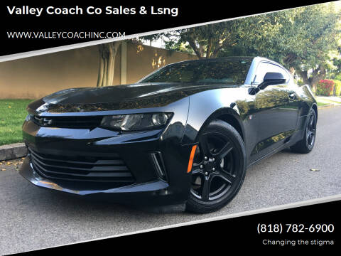 2018 Chevrolet Camaro for sale at Valley Coach Co Sales & Lsng in Van Nuys CA