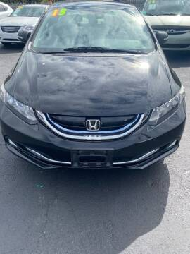 2013 Honda Civic for sale at Right Choice Automotive in Rochester NY